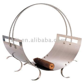 Stainless Steel Wood Holder