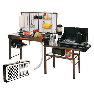 Кемпинговая мебель кухня своими руками 360