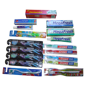 Toothpastes and Toothbrushes