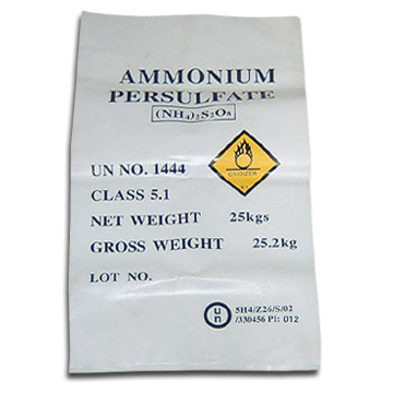 Ammonium Persulphate and Potassium Persulphate (Персульфат аммония и калия персульфат)