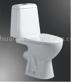 Two-piece Toilet (Двухсекционный Туалет)