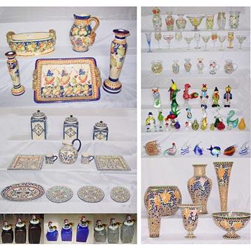 Kitchenware, Ceramics, Glassware (Посуда, керамика, изделия из стекла)