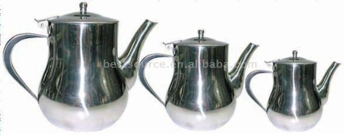 3pcs Stainless Steel Tea Pot Set (3шт Нержавеющая сталь чайник Установить)