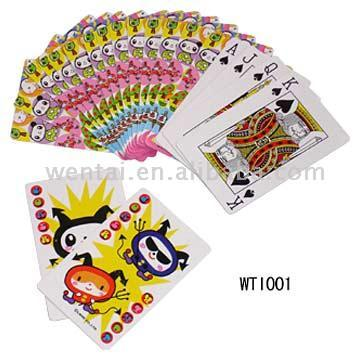 children playing. Children Playing Cards (Дети