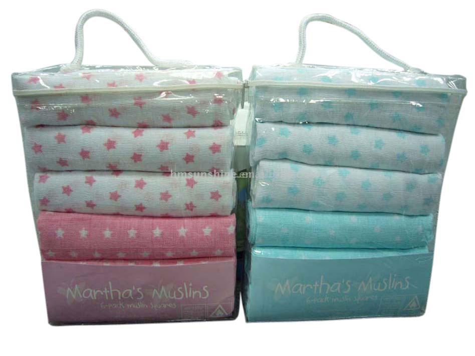 Baby Cotton Muslin Diapers (Baby Cotton Муслин Подгузники)