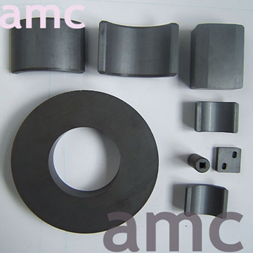 Anisotropic and Isotropic Ceramic Ferrite Magnets