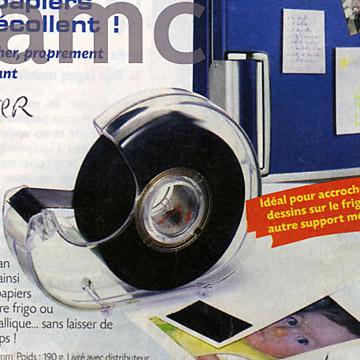 Flexible Magnet Tape With Dispenser And Rubber Magnet Roll (Magnet souple avec distributeur de bandes en caoutchouc et en aimant Roll)