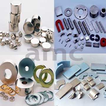 Sintered and Bonded NdFeB Magnets (Frittés et Bonded NdFeB)