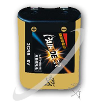 2CR5 Lithium-Batterie Größe Runde (2CR5 Lithium-Batterie Größe Runde)