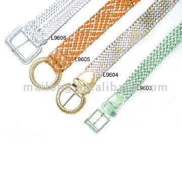 Woven Belts (Тканые ремни)
