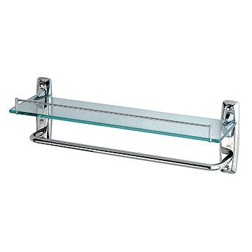 Glass Shelf with Towel Bar (Стеклянная полка с полотенцем Бар)