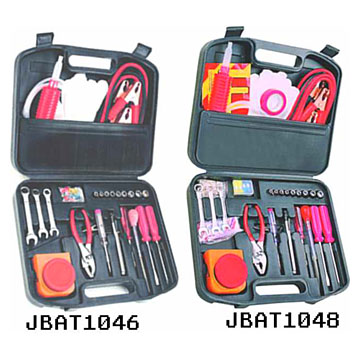 46/48pcs Auto Emergency Tool Sets