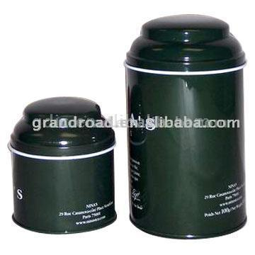 Round Tea Tin (Круглые Чай Tin)
