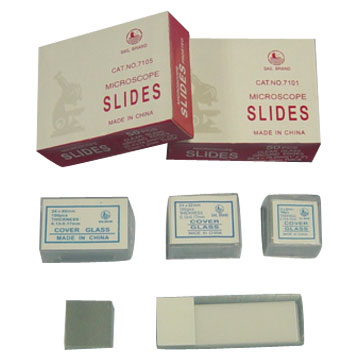 Microscope Slides and Cover Glasses