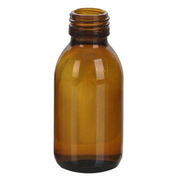 Amber Glass Bottle 100mlZD