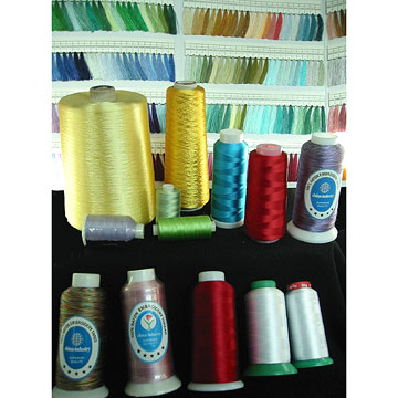 100% Rayon Embroidered Threads (100 threads% Rayon brodé)