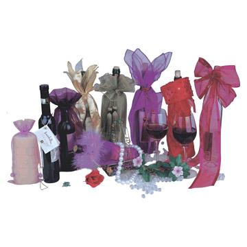 Pouches, organza bag , sheer bag , gift bag .wine bag (Сумки, сумки из органзы, Sh r мешок, мешок подарков. Вином сумка)