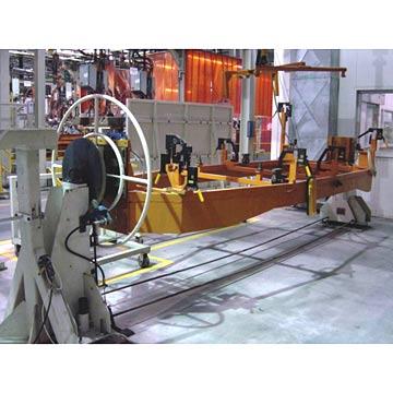 Passat Car Body Rotating Welding Fixture In SVW (Автомобиль Passat тела, вращающегося Сварочные принадлежности SVW)