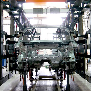 Car Body Assembly Welding Fixture (Car Body Montage Schweißen Möbel)