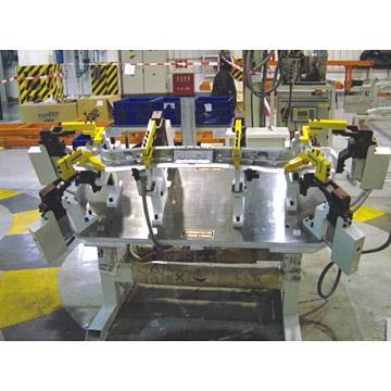Car Rear Panel Welding Fixture (Car Rückseite Schweißvorrichtung)