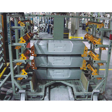 Car Rear Cover Storage Rack (Rückfahrkamera Cover Storage Rack)