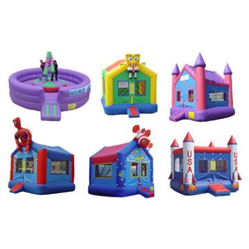 Inflatable Bounces (Надувная Отказы)