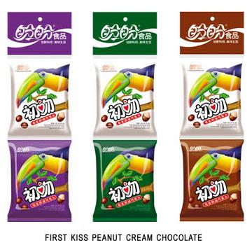 First Kiss Peanut Cream Chocolate (Первый поцелуй арахиса крем шоколад)