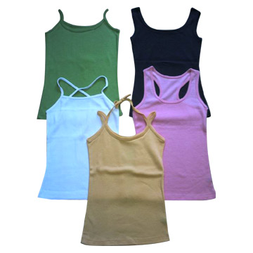 100% Polyester, Cotton or T/C Vest