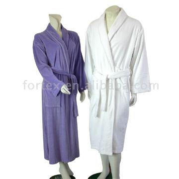 Velour Terry Bath Robe (Velour Terry Bademantel)
