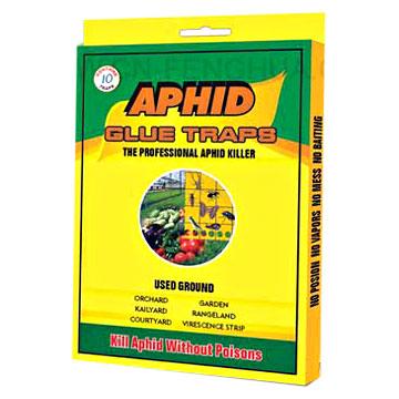Household  Aphid Glue Trap (Yellow Plastic Board) (Бытовые тля Клей Trap (желтые пластиковые советом))