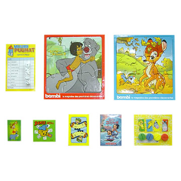 Puzzle Toys (Puzzle Spielzeug)