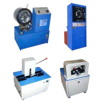 Crimping Machine / Cutting Machine / Skiving Machine (Обжимной машины / Cutting M hine / спускания краев машины)