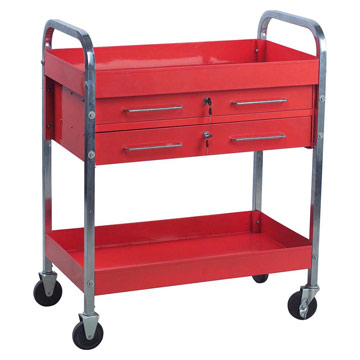 Service Cart W/ Two Drawers (Службы корзины W / Два ящики)