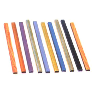 Colorful Square Pipes