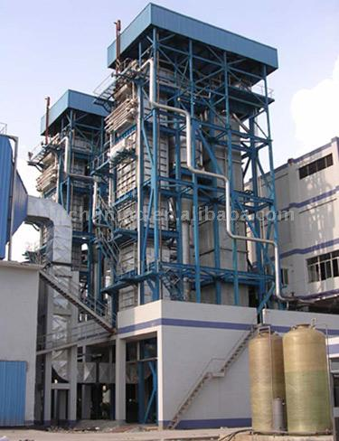 Circulating Fluidized-Bed Boiler (CFB)