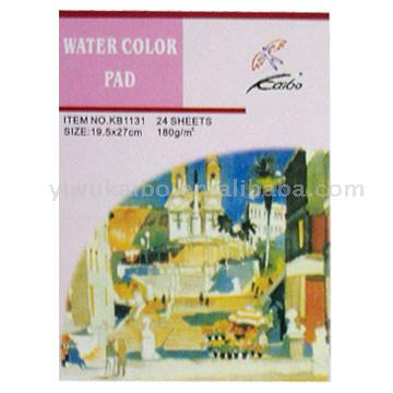 Water Color Pads