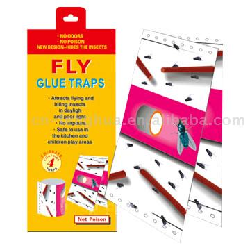 Household  Fly Glue Trap (Бытовые клея Fly Trap)