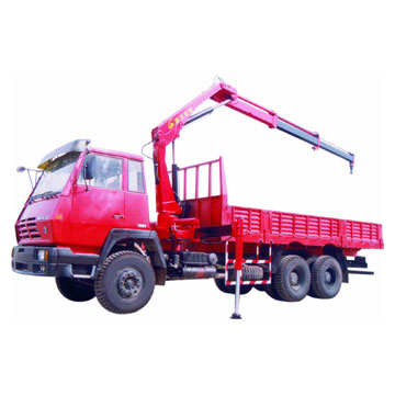 Truck Mounted Crane (Knuckle-Boom) (Автокран (рулька-бум))
