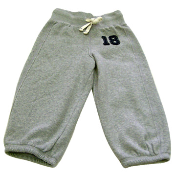 Children`s Flannel Trousers