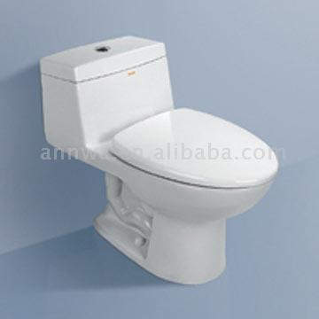 One-Piece Toilet (One-Piece WC)
