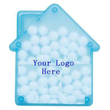 Mints with House-Shaped Card