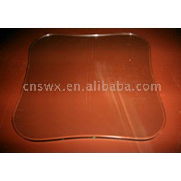 Clear Tempered Glass Shelves / Panels (Открытый закаленное стекло полки / Панели)