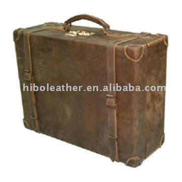 Leather Luggage Case (Set)