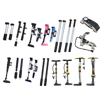 Hand Pumps, Mini Pumps & Foot Pumps (Handpumpen, Mini-Pumpen und Pumpen Foot)