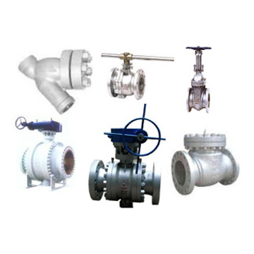 Industrial Valves (Ball/Gate/Check/Globe Valves)