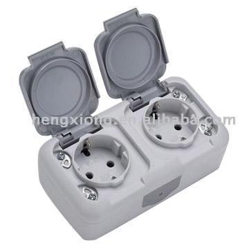 Double Waterproof Socket