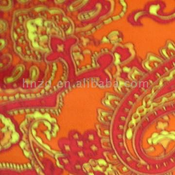 Printed Warp Knitting Fabric (Печатный Warp Трикотажная ткань)