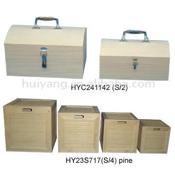 Wooden Cases (Деревянные ящики)