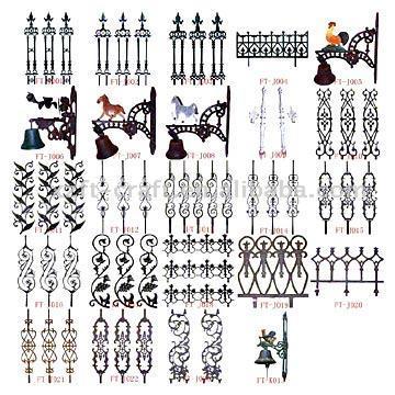 Fences, Lawn Decorations (Заборы, садово украшения)