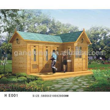 Toilet Wooden House (Туалет Деревянный дом)